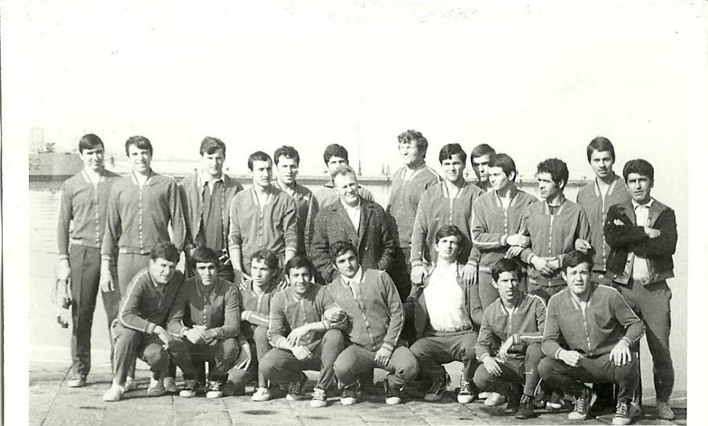 ECHIPA ROMÂNIEI CAMPIOANĂ FIRA JUNIORI ÎN 1972