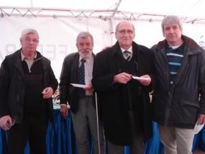 22.03.2008. Valeriu Irimescu, Marinel Bostan, Mircea Rusu și Peter Tweedie la înființarea A.I.R.