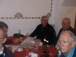 Valeriu Irimescu și Aurel Cristescu ascultă cuvântarea lui Victor H. Guțu