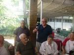 Victor H. Guțu răspunde toastului aniversar