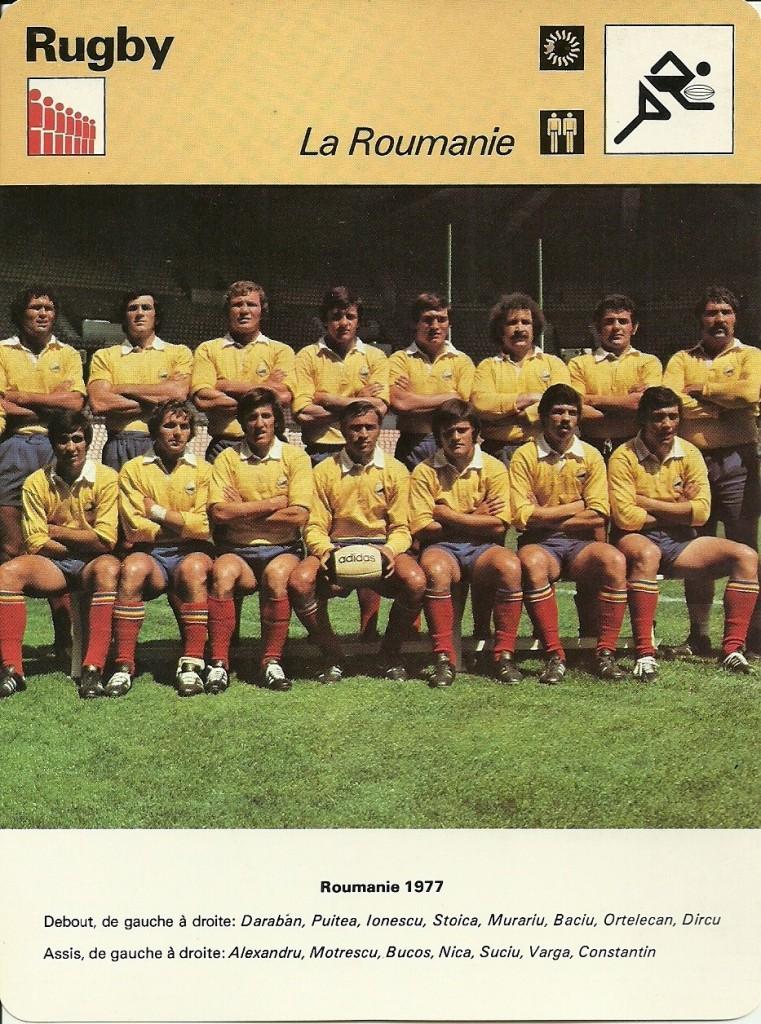 Romania Franta 1977 I