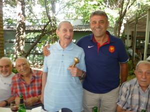Ziua de naștere la Casa Universitarilor cu Cristian Grinovici, Ioan Ignat, Teodorin Tudose și Marian Gabrielescu